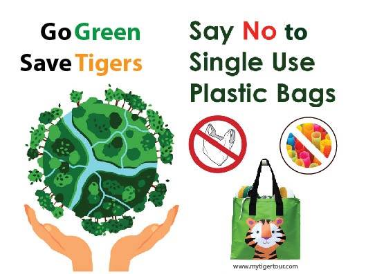 Go green say no to plastic