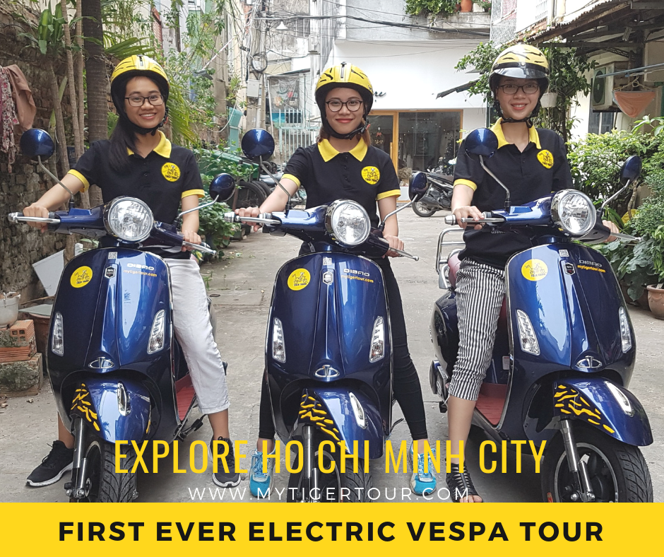 SAIGON VESPAS TOUR