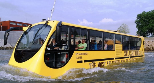 Water navigation bus