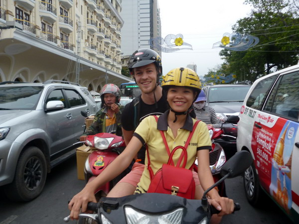 Best driver in Saigon city!