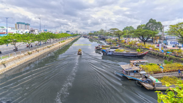 Part of Saigon river