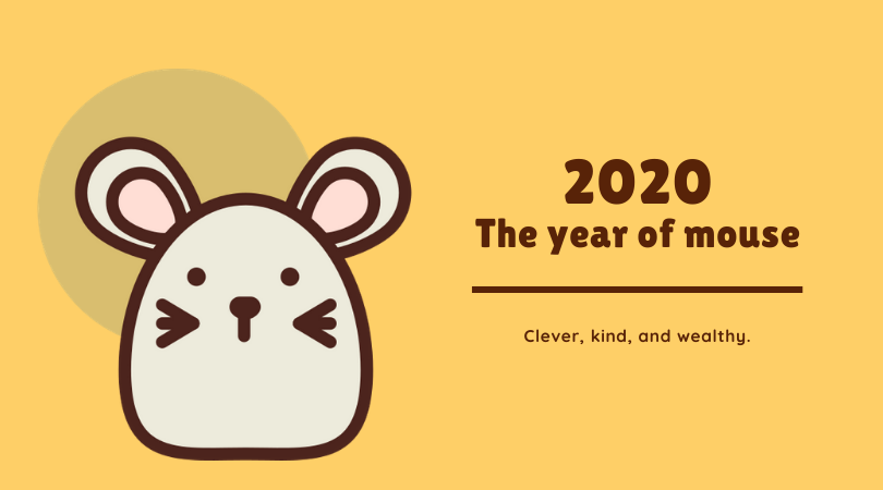Year animal of 2020: Mouse