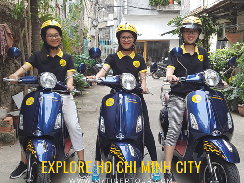 VIETNAM FIRST EVER ELECTRIC VESPA TOUR