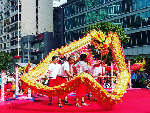 Vietnam Dragon Dance Festival 2016