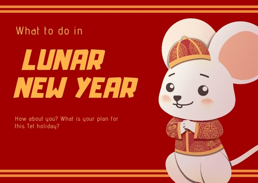 10 things to do in the Vietnamese lunar new year